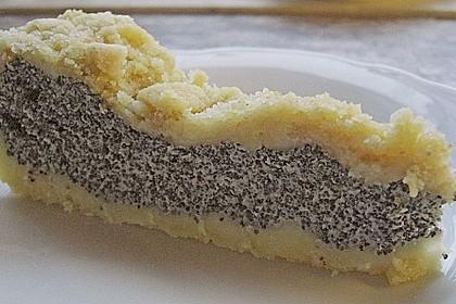 Mohnkuchen mit Quark und Streuseln 17