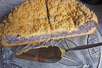 Mohnkuchen mit Quark und Streuseln 20