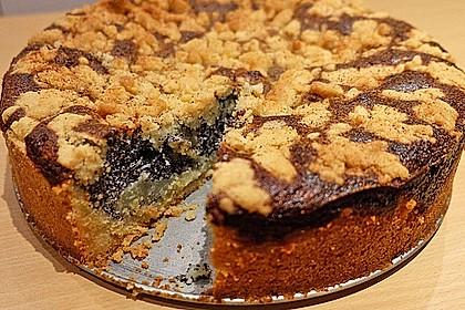 Mohnkuchen mit Quark und Streuseln 18