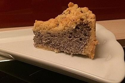 Mohnkuchen mit Quark und Streuseln 11
