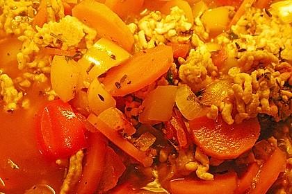 Paprikagemüse mit Rinderhackfleisch 2