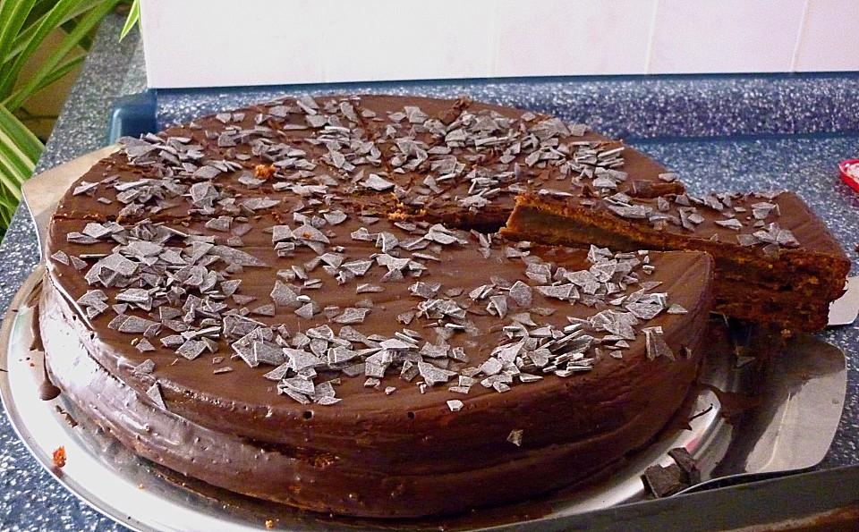 Feine Schokoladentorte Von Chrissy79 Chefkoch