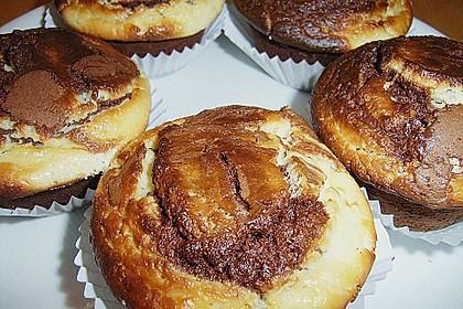 Cheesy Schoko - Muffins 16
