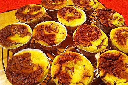 Cheesy Schoko - Muffins 12