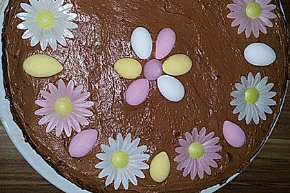 Schokoladentorte mit Schokoladenbuttercreme 1