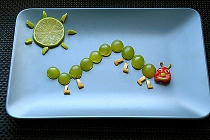 Weintrauben-Raupe
