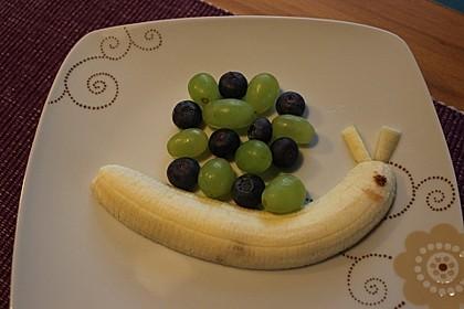 Obst-Schnecke (Bild)