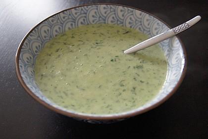 Bärlauch-Spargel-Suppe