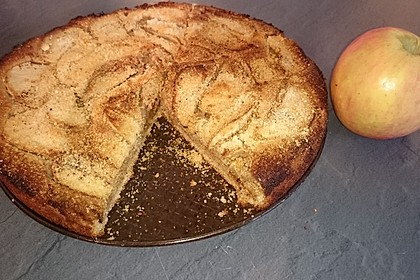 Apfel-Mandel-Kuchen 2