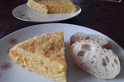 Traditionelle spanische Tortilla 1