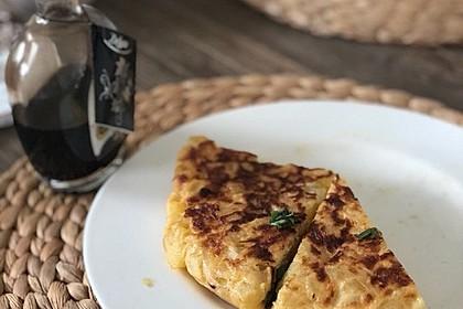 Traditionelle spanische Tortilla 30