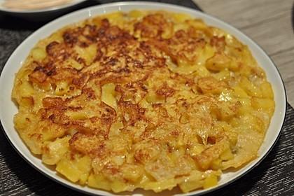 Traditionelle spanische Tortilla 7