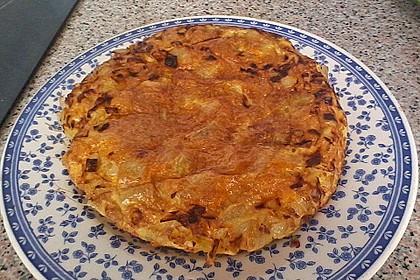 Traditionelle spanische Tortilla 43