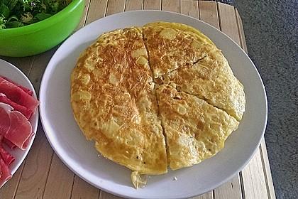 Traditionelle spanische Tortilla 10