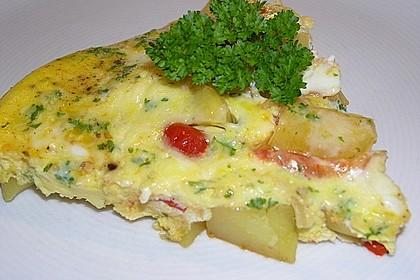 Traditionelle spanische Tortilla 34