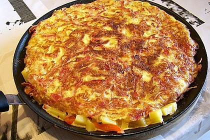 Traditionelle spanische Tortilla 5