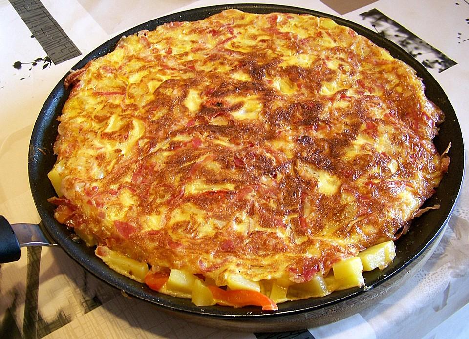 Traditionelle Spanische Tortilla Von Fanes