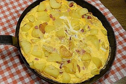 Traditionelle spanische Tortilla (Bild)