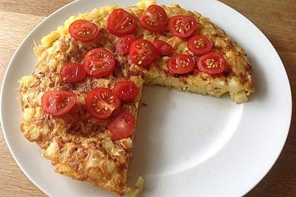 Traditionelle spanische Tortilla 9