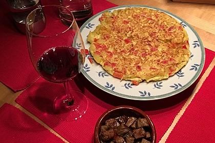 Traditionelle spanische Tortilla 19