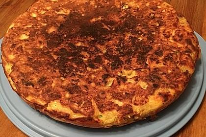 Traditionelle spanische Tortilla 27