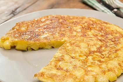 Traditionelle spanische Tortilla 2
