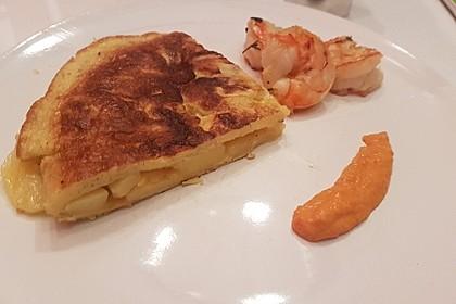 Traditionelle spanische Tortilla 20
