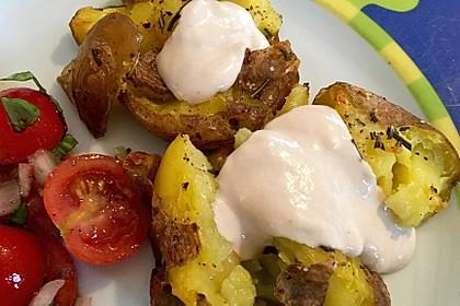 Quetschkartoffeln vom Backblech – Crushed Potatoes 6