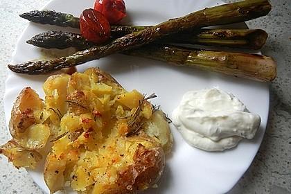 Quetschkartoffeln vom Backblech – Crushed Potatoes 8