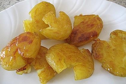 Quetschkartoffeln vom Backblech – Crushed Potatoes 7