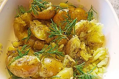 Quetschkartoffeln vom Backblech – Crushed Potatoes 2