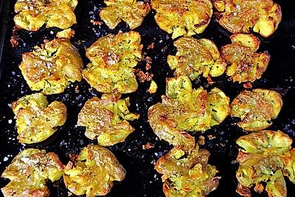 Quetschkartoffeln vom Backblech – Crushed Potatoes 1