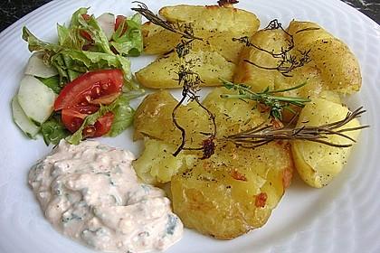 Quetschkartoffeln vom Backblech – Crushed Potatoes 5