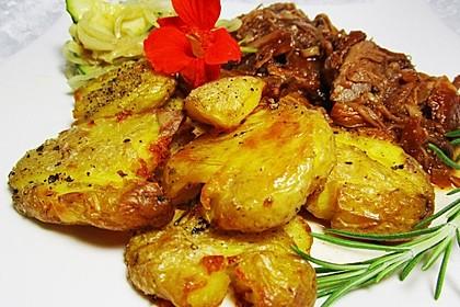 Quetschkartoffeln vom Backblech – Crushed Potatoes