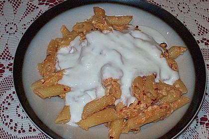 Nudeln mit Joghurt 6