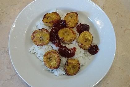 Kochbananen mit Kokosreis 2