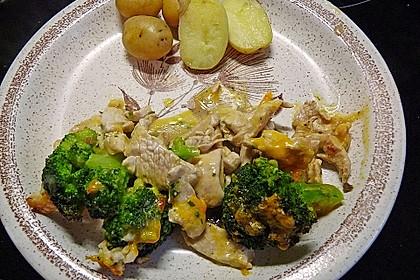 Chicken-Brokkoli-Cheddar Auflauf