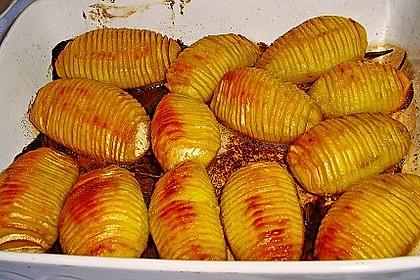 Hasselback-Kartoffeln 2