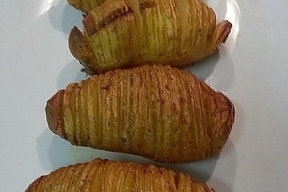 Hasselback-Kartoffeln 12