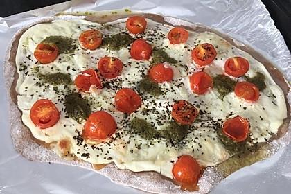 Tomaten-Mozzarella-Flammkuchen 32