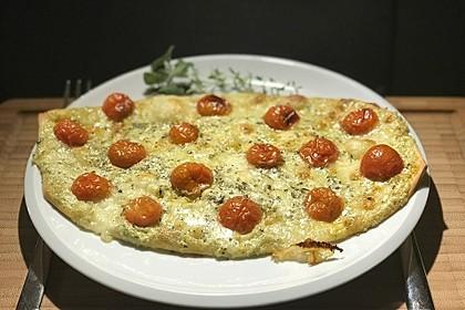 Tomaten-Mozzarella-Flammkuchen 23