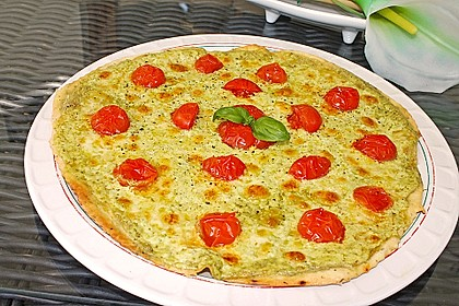 Tomaten-Mozzarella-Flammkuchen 6