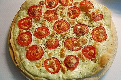 Tomaten-Mozzarella-Flammkuchen 17
