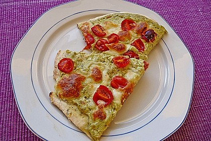 Tomaten-Mozzarella-Flammkuchen 9