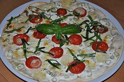 Tomaten-Mozzarella-Flammkuchen 8