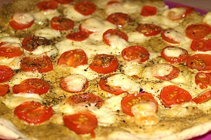 Tomaten-Mozzarella-Flammkuchen 7