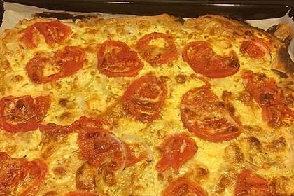 Tomaten-Mozzarella-Flammkuchen 43
