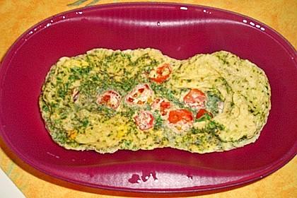 Rührei mit Tomaten und Käse 6