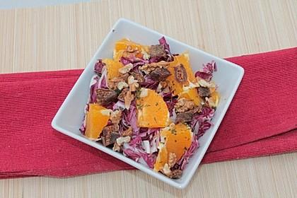 Radicchio-Orangen-Salat 5