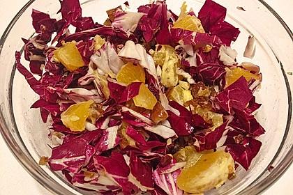 Radicchio-Orangen-Salat 2